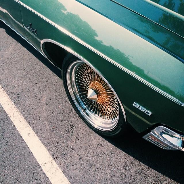 #dreamcar #impala #chevrolet #green (at Kona International Market)