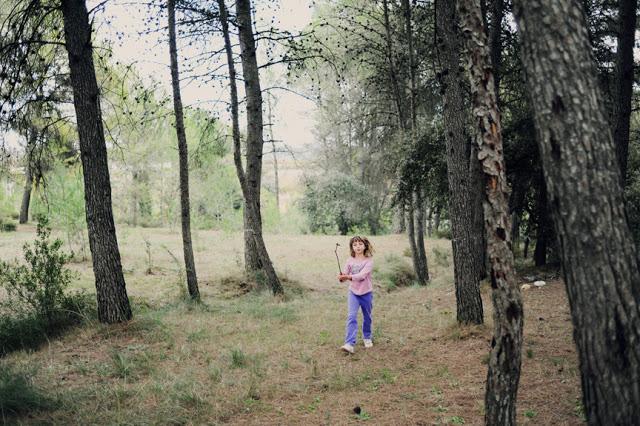 Wanderlust in the woods.