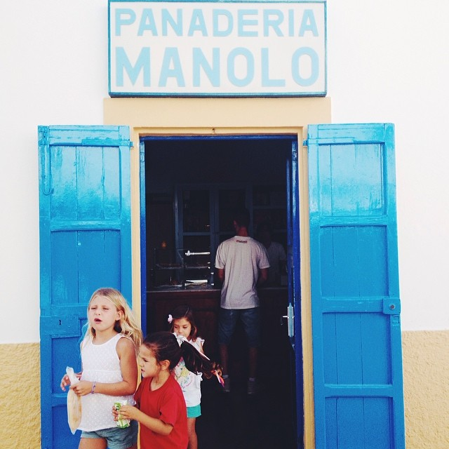 Kiddos getting their treats. #formentera #travel #mediterranean #vscocam (at San Francesc Xavier Formentera)