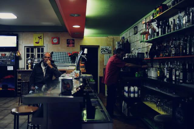 Bar in El Verger, Alicante.
