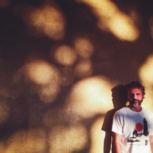 Vicent representing west mich in the golden glow of hawaii. #vsco #marushka #vscocam #portrait