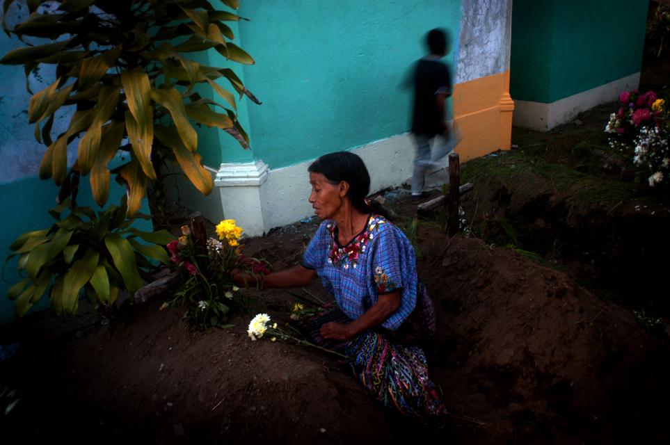 Todos los Santos in Santiago Atitlan, Guatemala.