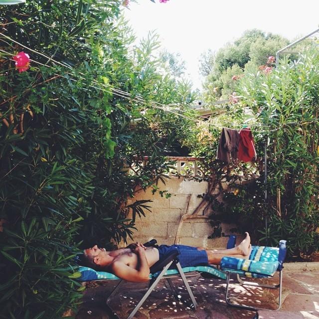 La siesta n. 2. 😴 #lifeinspain #zzz #vscocam #mediterranean