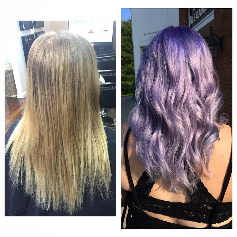 Before & After Lilac