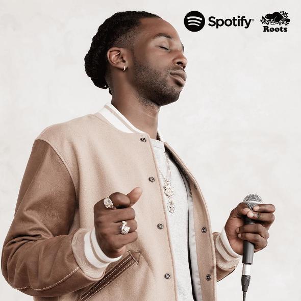 Jazz Cartier for Spotify Canada