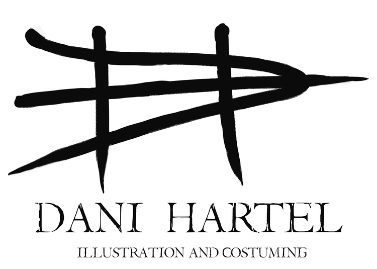 Dani Hartel Illustration and Costuming