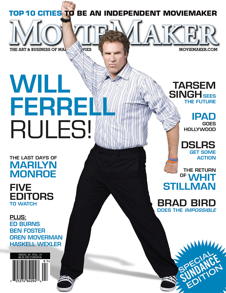 "MOVIEMAKER MAGAZINE - ""FIVE EDITORS TO WATCH""  FEATURED IN ARTICLE"