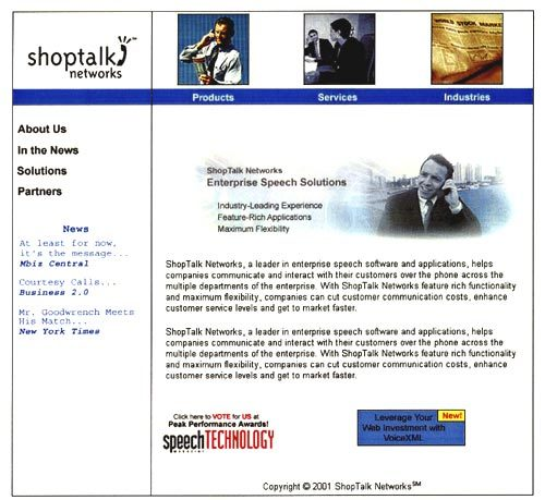 Web and collateral design for Shoptalk.