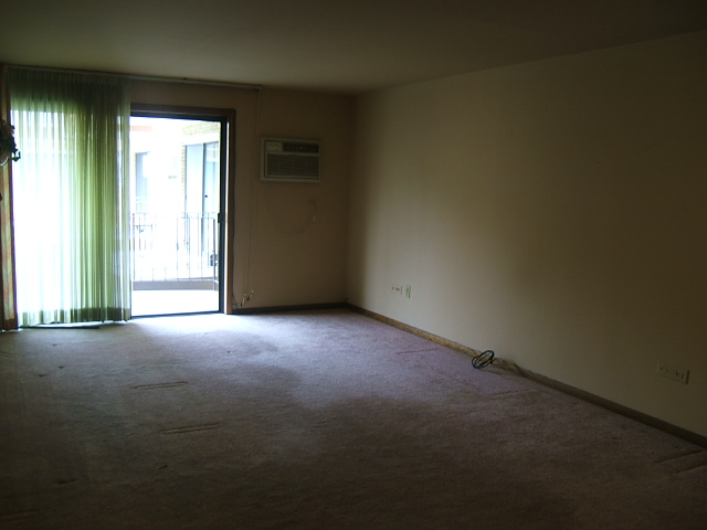 A very depressed and sad living room.