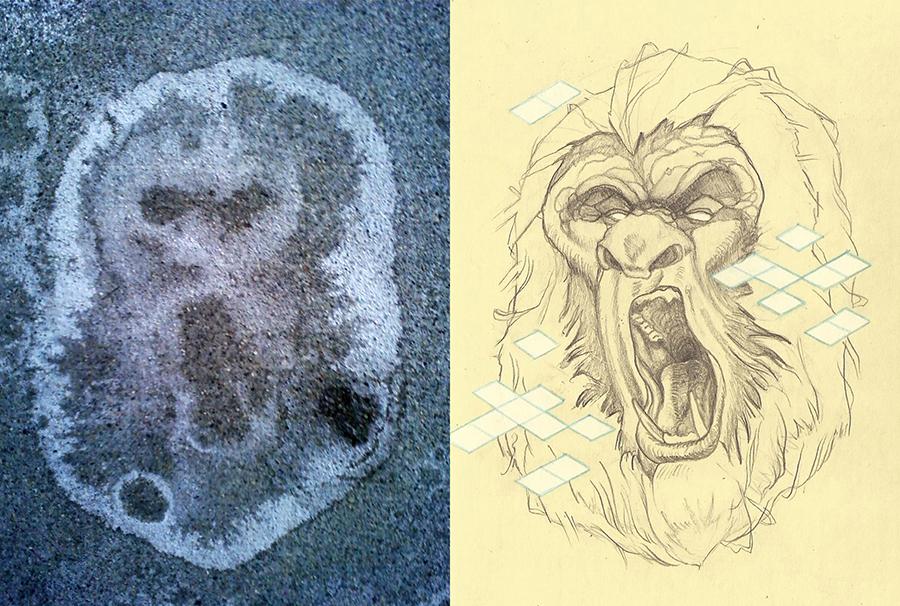 sidewalk stain gorilla