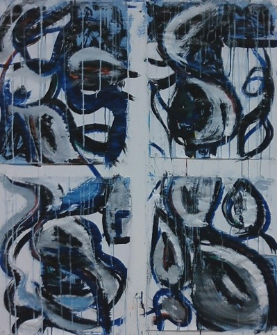 Untitled, ink and tempera, 2010