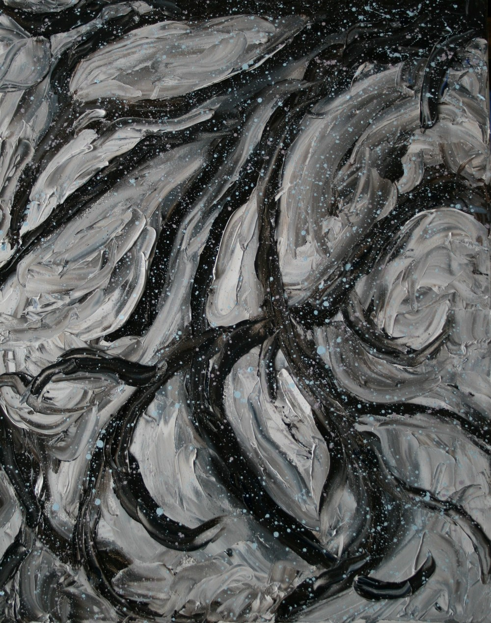 Winter, Oil on canvas, 16''x20'', 2008