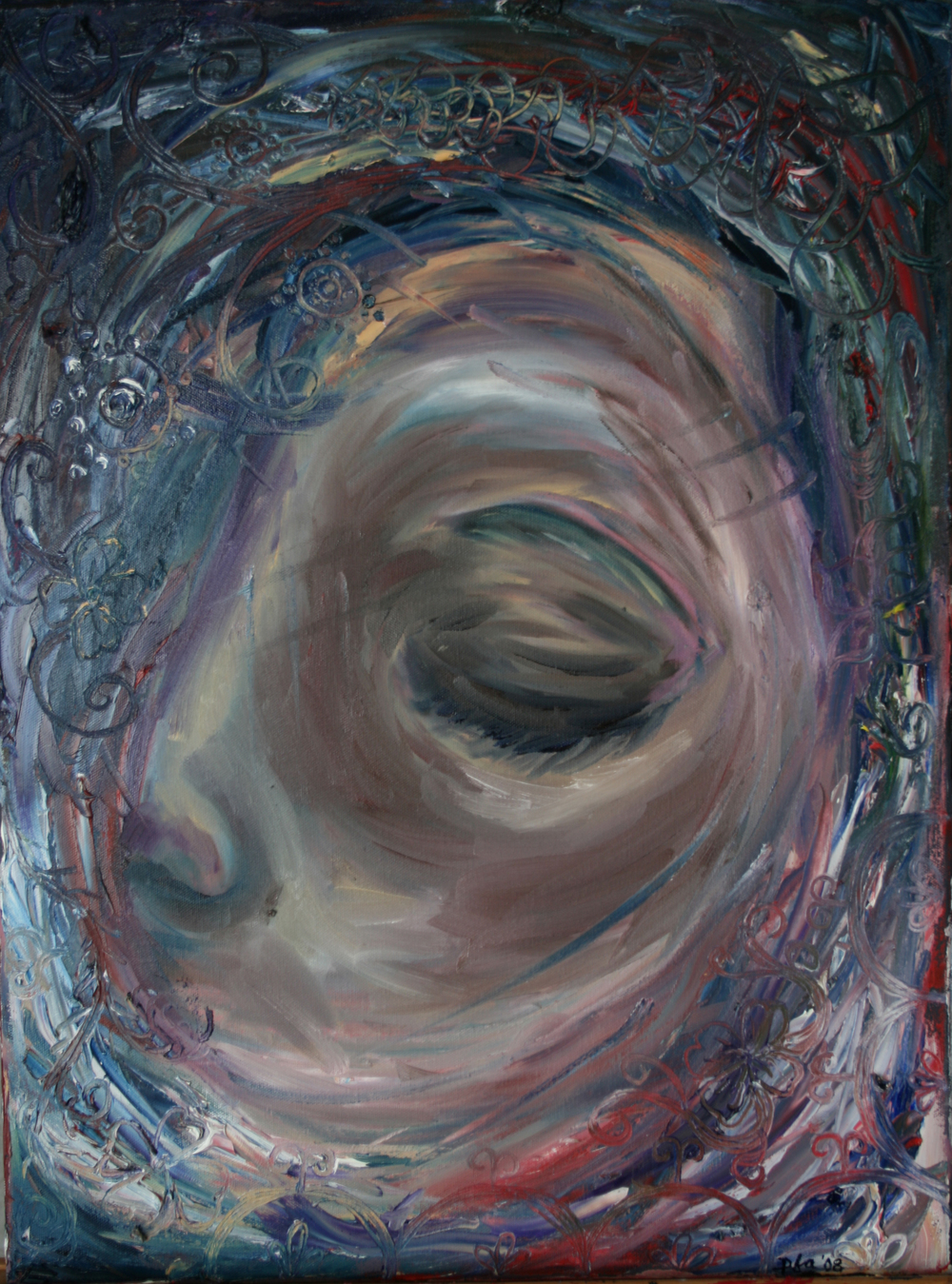 Dreaming, Oil on canvas, 18''x24'', 2008