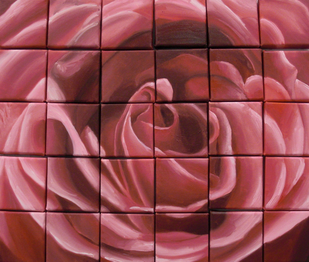 Rose, Oil on canvas, 30 4''x4'', 2009