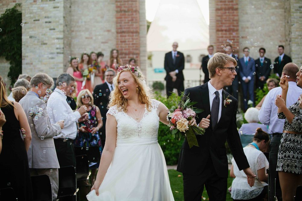 artsy wisconsin wedding