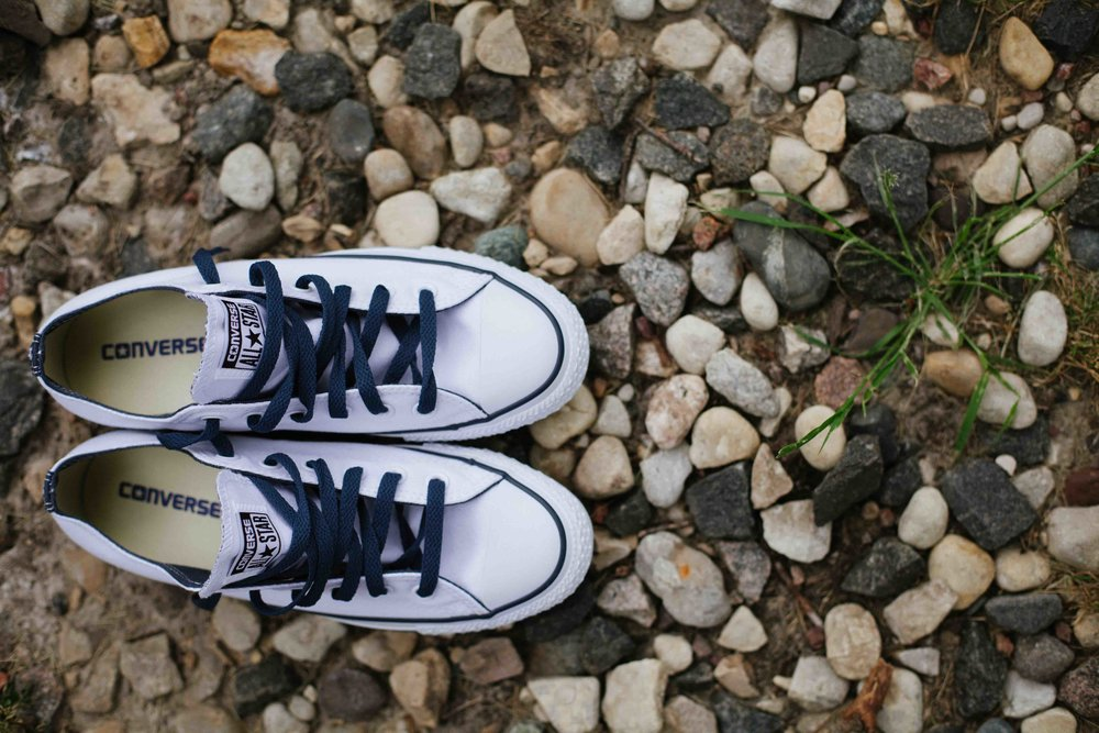 wisconsin barn wedding justin trails resort sparta wi converse wedding shoes