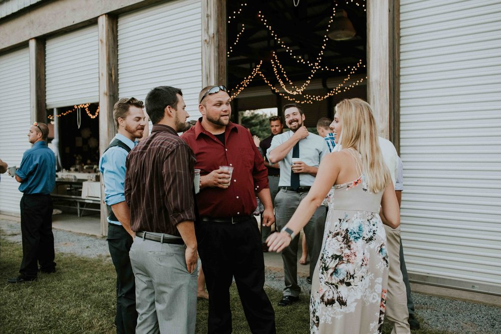 rustic outdoor wedding grand rapids lions club wisconsin