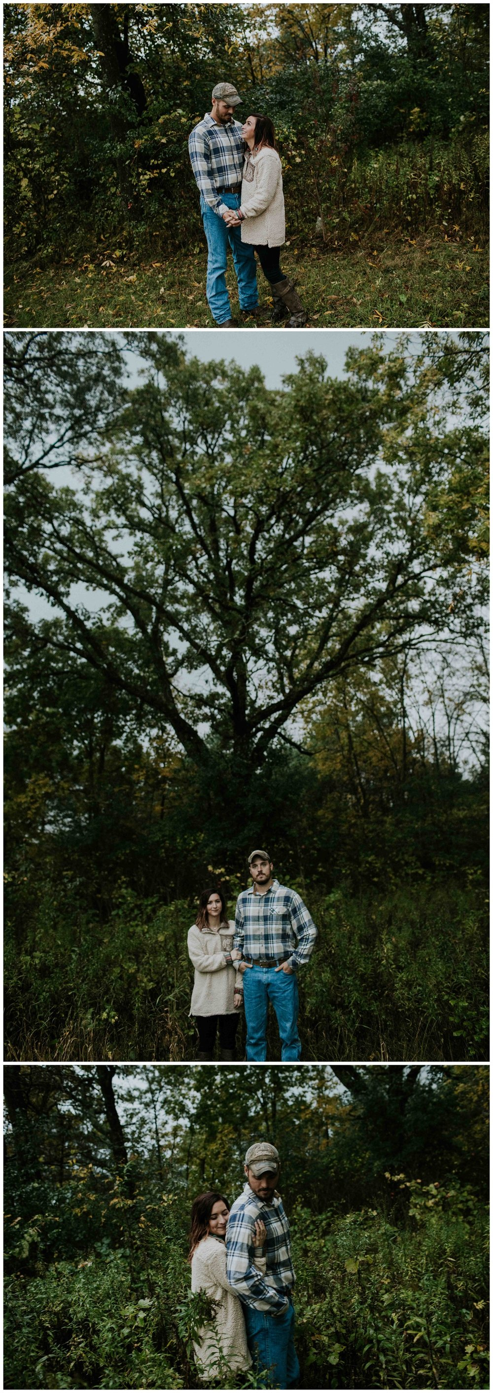 rainy day engagement session chloe ann photography madison wedding photographer