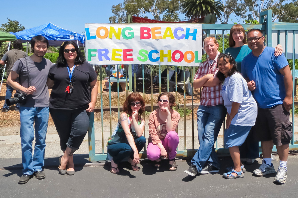 long beach free school
