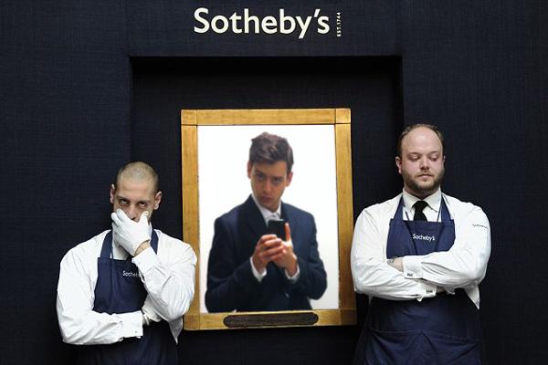 """Dreamjoke$ or, """"Sotheby Slip"""""""