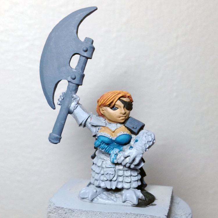 4. Ursula  - Reaper Miniature #13293