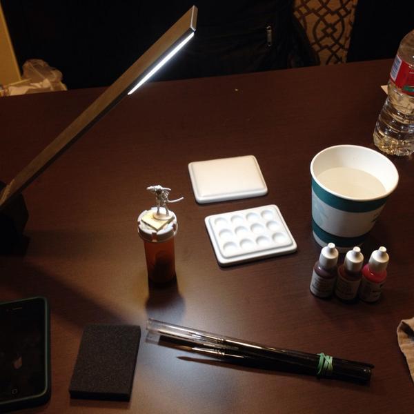 Hotel Paint Set-Up