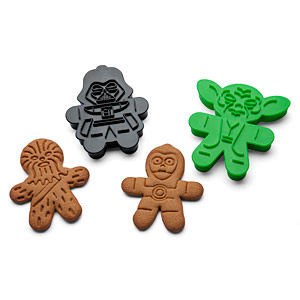 Star Wars Cookie Cutters on ThinkGeek.com