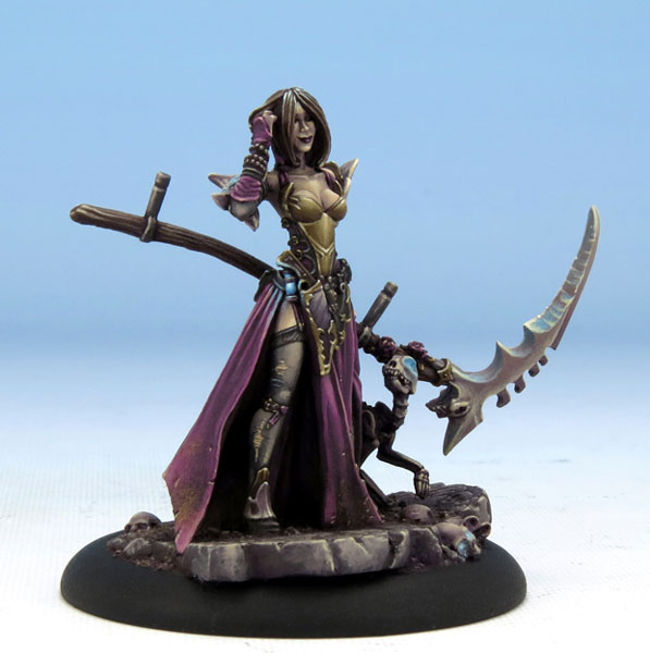 """Jen - Harvester of Souls"" sculpted by Jeff Grace; painted by Jen Haley (click for the link to Dark Sword's website)"
