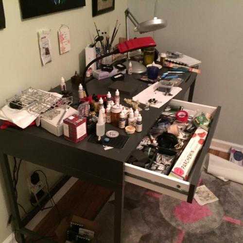 Desk Explosion