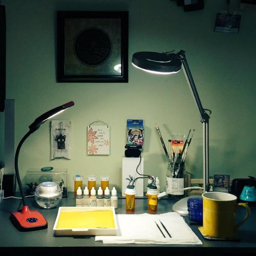 New Year Clean Desk