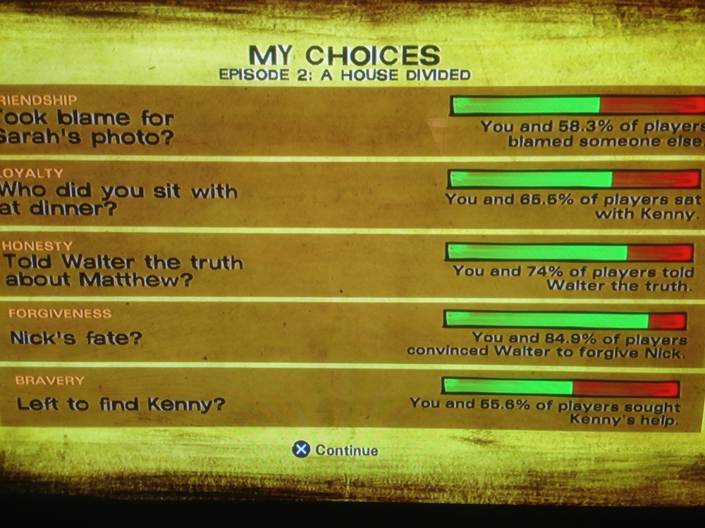 episode two choices