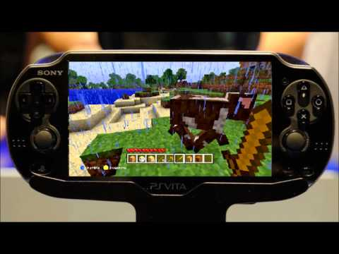 microsoft minecraft and ps vita update the indy gamer