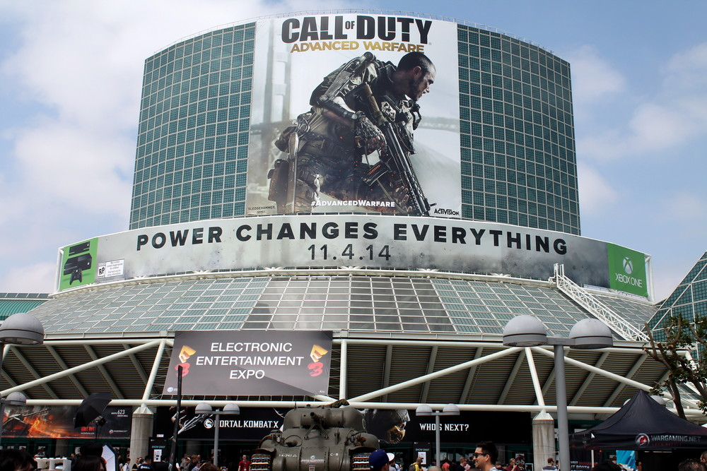 E3 2014 at the Los Angeles Convention Center.
