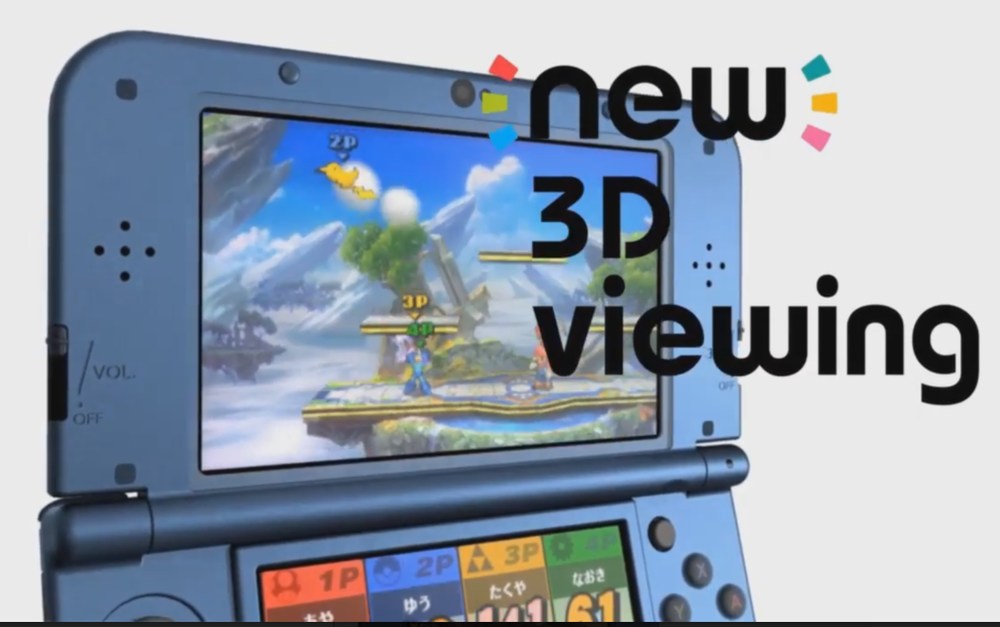 "Yes, you could view the 3D from this angle. But, as Nintendo often reminds us, "" To enjoy the 3D effect of Nintendo 3DS software, you must experience it from the system itself. All screenshots and videos on this website have been captured in 2D mode."""