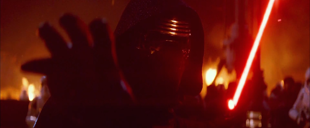 Kylo Ren, presumably a new Sith lord.