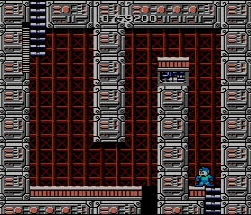 I got stuck at this room for a while. Turns out I needed to go back to Elecman's stage to get the magnet beam.