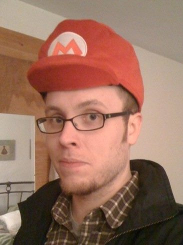 How cool do I look? Very. Thanks, Club Nintendo (R.I.P.).