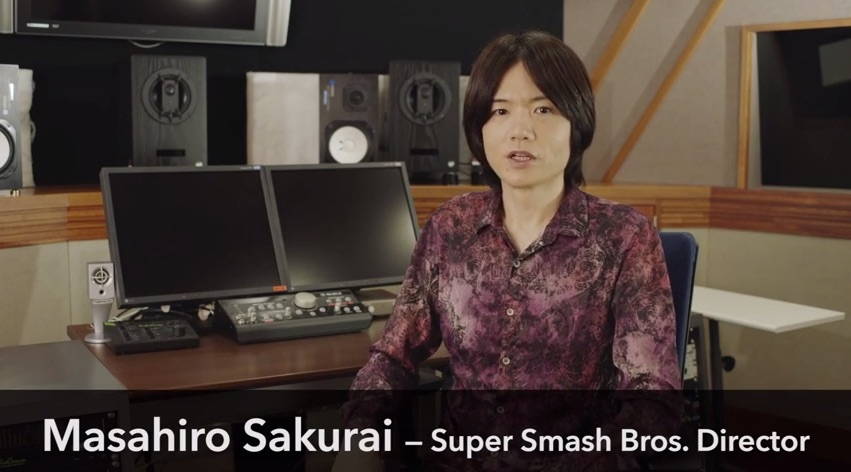 Sakurai has the best shirts.