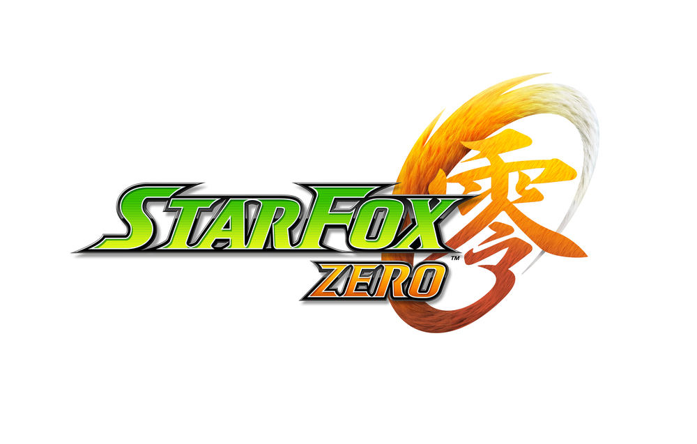 "The game's logo, featuring the ""fox tail"" Kanji character."