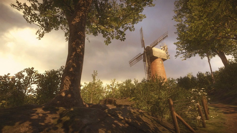 The most melancholy windmill I've ever seen.