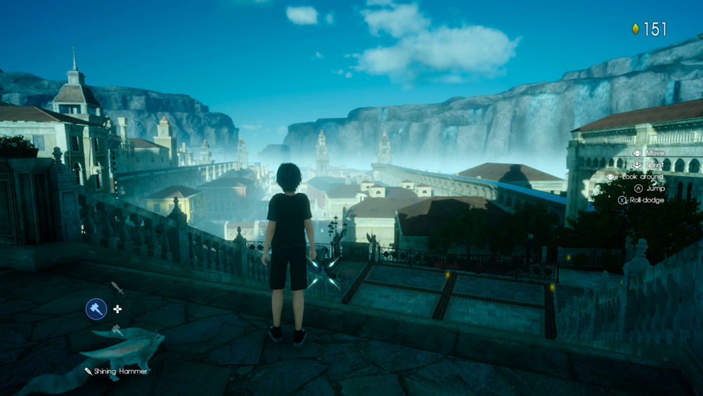 Some of the environments look good; others, like this, look positively last-gen.