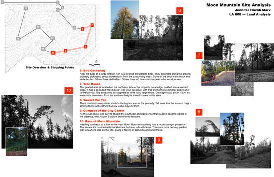 Moon Mountain site analysis