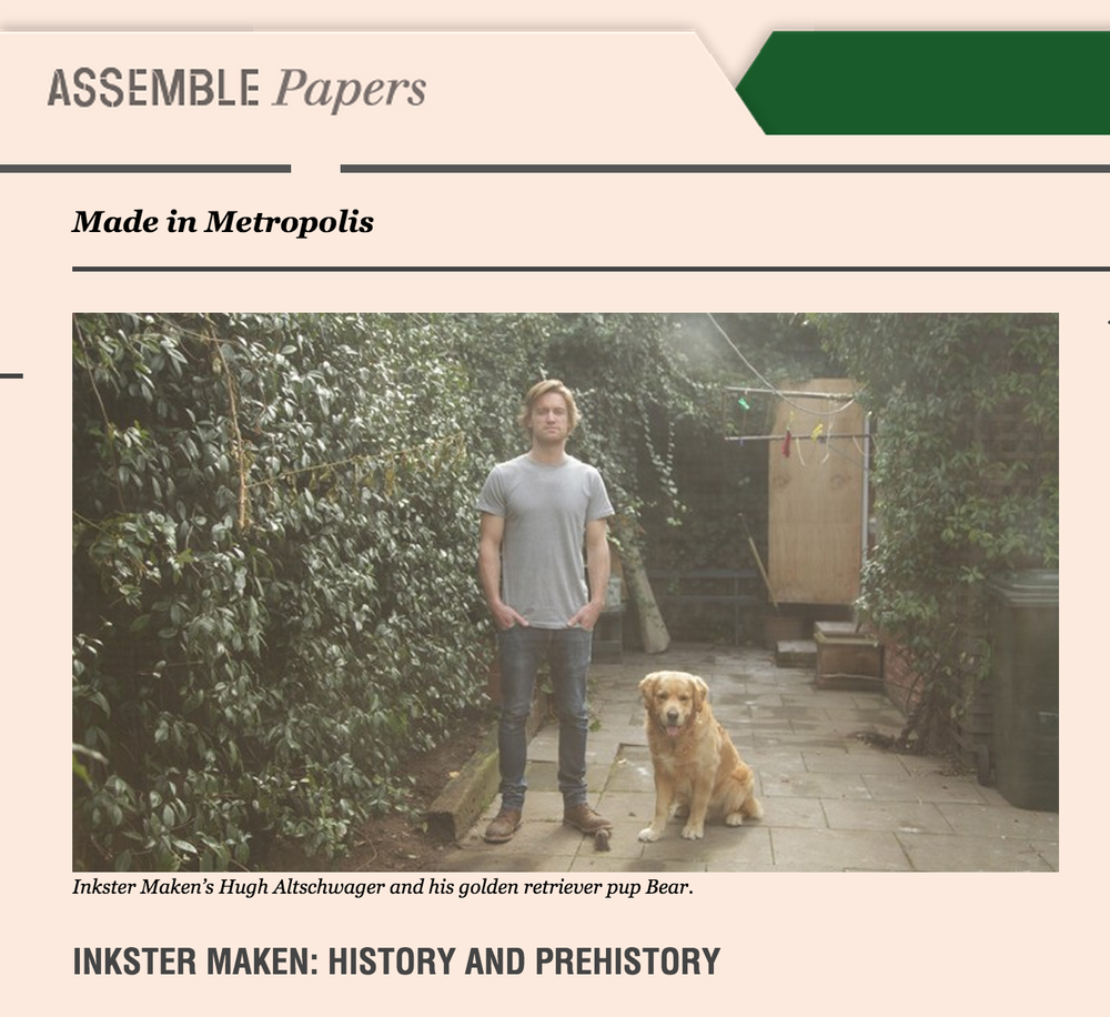 December 2014 – Assemble Papers Online Interview