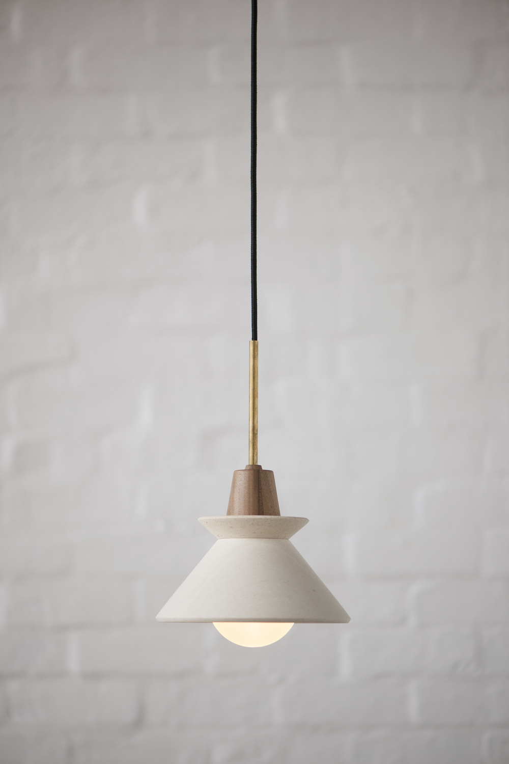 copper fr sportique burned small frama products pendant light cone