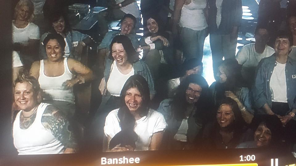 Banshee One of my extra roles 2 episodes 2013