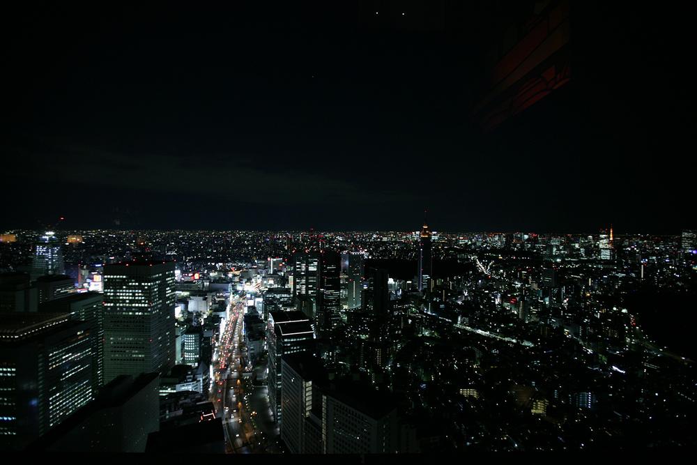 SKYLINE IN TOKYO JAPAN