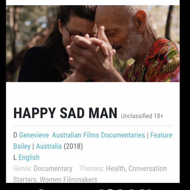 Hi I Am Eleven friends! I've made a new feature #documentary called Happy Sad Man and I would love you to follow our adventures here @happysadfilm  I so look forward to the world premiere August 12 at @melbfilmfest If you would like to see the film in your corner of the world please let us know :)