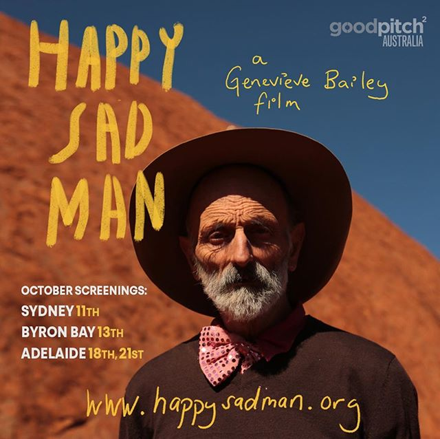 So happy to be sharing these important, funny and moving stories with the world. If you would like to see my new film please follow us here @happysadfilm for more info about screenings