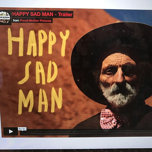 TRAILER LAUNCH! It's world mental health day! Please share the link www.happysadman.org ❤️