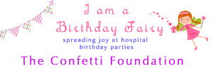 to learn more about how to help contact us or visit www.confettifoundation.org